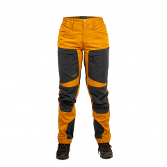 Active Stretch Pants Women Gold